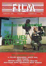 SAMUEL FULLERMonthly Film BulletinFeb1984