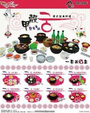 Orcara 1:12 Scale Korean Food Dollhouse Miniatures Doll Accessories Toy Set