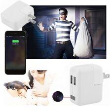1080p USB Spy Camera 32gb Mini DVR Charger Recorder Motion Detection Hidden Cam