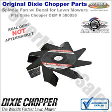 300058 Dixie Chopper Spindle Fan wth Decal for 3066Lp & More Lawn Mowers