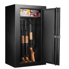 20-Gun Large Steel Rifle Shotgun Security Cabinet Lock Safe Storage Heavy Duty