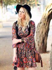 Zara Viscose Long Sleeve Mini Dresses for Women