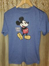 Children's Large (10/12) Blue Mickey Mouse Graphic Tee by Disney