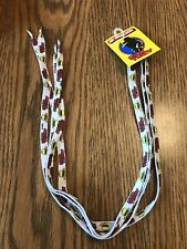 """New Old Stock Dick Tracy Shoe Laces 40""""  Carded ( Walt Disney)"""