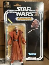 Star Wars Black Series Lucasfilm 50th Anniv. Ben (Obi-Wan) Kenobi Exclusive New