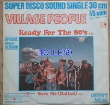 Disques vinyles maxi 45 tours Village People