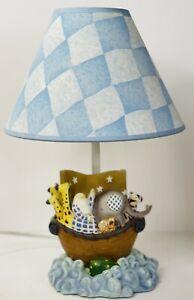 15 In Noah's Ark Lamp Original Shade Boy's Room