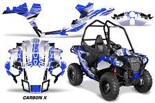 "Polaris Sportsman ""ACE"" ATV Graphic Kit Wrap Quad Accessories Decals CARBON X U"