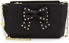 NWT Betsey Johnson Studded Bow Crossbody Purse Handbag Bag