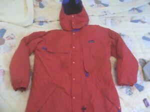 RARE Patagonia Vintage Alpine Insulated Retro X Mountaineering Parka Jacket Coat