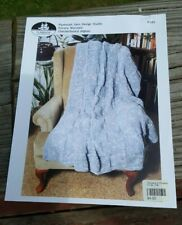 New ListingSale! Rare Knitting Pattern: Checkerboard Afghan By Plymouth