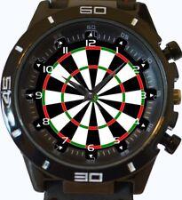 Dart Game New Gt Series Sports Unisex Gift Wrist Watch UK SELLER