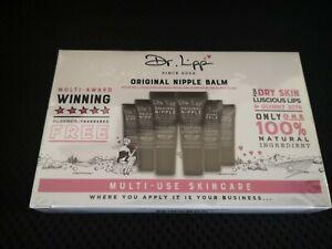 Dr Lipp Six Pack Original Nipple Balm Multi Use Skincare Travel Friendly