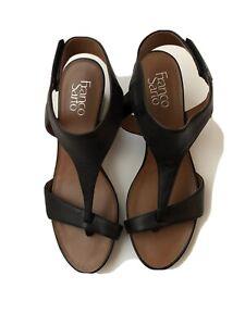 Franco Sarto Mulan Women US 6 Ivory Sandals Pre Owned 5679
