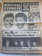 NME 7/16/65 Beatles Byrds Hollies PJ Proby Dusty Springfield