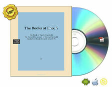 All Complete 1,2,3 The Book of Enoch,the secrets,The hebrew On Non-Audio CDROM