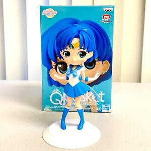 Sailor Moon Eternal Q Posket Anime Figure Toy Super Sailor Mercury Ver.A BP16722