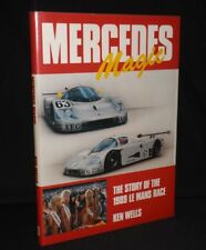 MERCEDES MAGIC THE STORY OF THE 1989 LE MANS RACE MULTI SIGNED BOOK WATSON SEARS