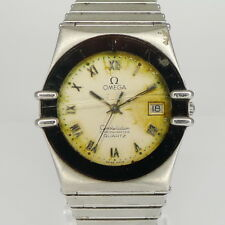 DEFEKTE Omega Constellation Edelstahl Unisex Quartz Chronometer - Ref. 1422