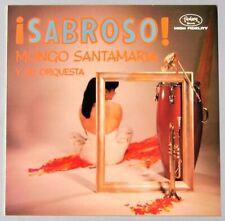 "LP Mongo Santamaria ""¡SABROSO!"" FANTASY, Remastered REISSUE 1987 LATIN [nm]"