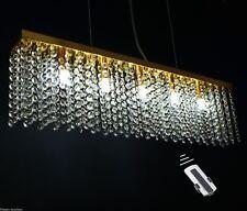 LED Hängelampe TROLLE 5-flg. Farbwechsel, Fernbedienung, Pendelleuchte, Gold