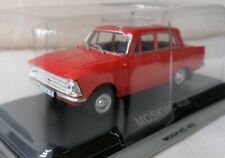 New model - Moskvitch 408 Saloon - IXO IST 1:43 - Red Russian Soviet Moskvich