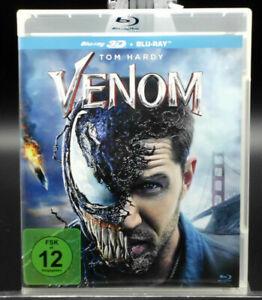 """Venom""3D Blu-ray + 2D Blu-ray, Marvel,mitTom Hardy,aus Sammlung"