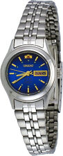 Orient FNQ04004J Women's 3 Star Stainless Steel Navy Blue Dial Automatic Watch