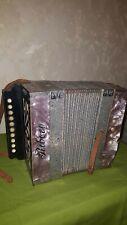 kleinesKnopfakkordeon Akkordeon Ziehharmonika Ribezo aus Sammlungsauflösung