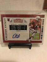 2019 RYQUELL ARMSTEAD Panini Contenders DP ROOKIE AUTO FBCard #284
