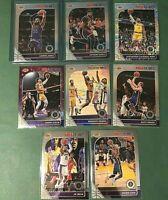 2019-2020 NBA Hoops Premium LEBRON JAMES Anthony Davis Lakers 8 Card Lot