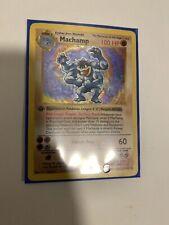 Pokemon First Edition Shadowless Machamp 8/102