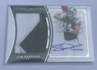 2018 Panini National Treasures Sam Darnold Two Color RPA RC ROOKIE AUTO #16/25