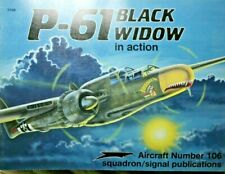 P-61 Black Widow in action Squadron Signal book # 106 AS NEW 9780897472487