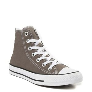 Converse All Star Hi Top Womens & Mens Canvas Trainers Shoes - Charcoal