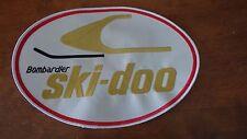 Bombardier Ski Doo Patch Snowmoble back patch XL back patch  10'x7' XL
