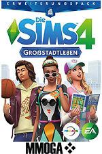 Die Sims 4 Großstadtleben City Living Key - EA Origin Code DLC Addon PC EU DE