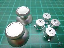Ps4 controller Button Bottoni MOD Modding PLAYSTATION 4 alluminio argento