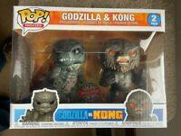 Godzilla vs Kong Funko Pop Vinyls New in 2 Pack Box
