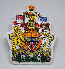 CANADIAN COAT OF ARMS CANADA MAPLE LEAF IRON ON PATCH SCOUT ARMY AIRSOFT