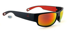 New Vuarnet Rider Sunglasses | VL1621 0004 - Matte Black / Red Flash Mirror Lens