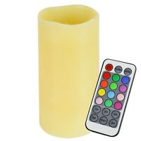 Electric Flameless Candles Battery Colour Changing LED Flicker Tea Lights Remote