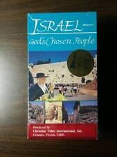 Israel - God's Chosen People (2004) and God's Chosen Land (1989) - VHS Tape