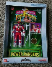 Brand new BanDai Saban's Power Rangers Auto Morphin RED RANGER Legacy Collection