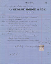 2409 DUNDONALD, George Hodge & Son, Builders – 1887, attractive nice old vintage