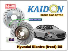 """Hyundai Elantra disc rotor KAIDON (front) type """"RS"""" / """"BS"""" spec"""