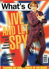 Mike Myers Hand Signed Autographed Whats On Magazine Cover