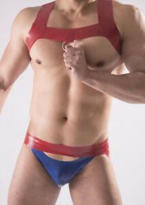 """Ready Made with 25% discount - RUBBER """"OPEN ACCESS"""" JOCKSTRAP, 0.8mm  latex - s"""