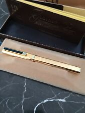 Dunhill Vintage Old Store Stock Fountain Pen Gold - M point with refills