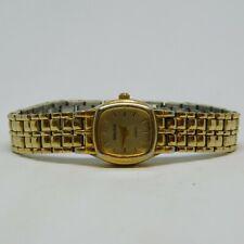 "Gruen Since 1874 001-5Y30 Gold Tone Quartz Analog Ladies Watch Sz. 5 3/4"""